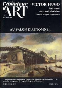 1985, Le journal de l'amateur d'art